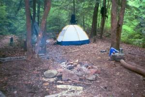 Camp on Slickrock
