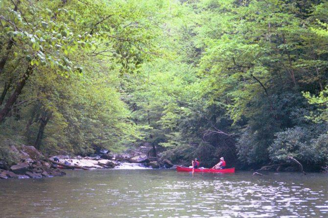 Roger and Bev on Slickrock Creek