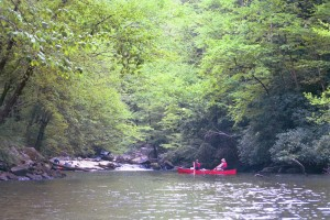 Roger and Bev on Slickrock Creek