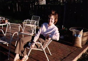 Arleen Cain, my Mom
