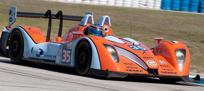 Oak Racing Judd, car 35 in turn 11
