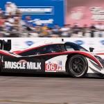 Muscle Milk Aston Martin car 06 exits turn 17a