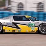 Robertson Racing Doran Ford GT car 004 exits turn 17a