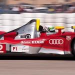 Audi Sport R15, car 2 exits turn 17a