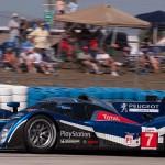 Peugeot car 7 in turn 5