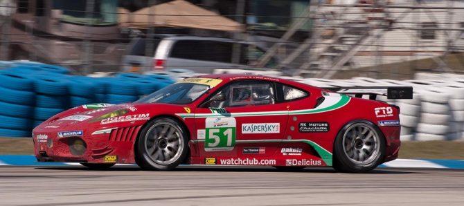 AF Corse Ferrari F430 GT2, car 51 in turn 5