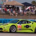 Krohn Racing Ferrari 430 GT2, car 57 in turn 5