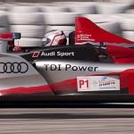 Audi R15+ TDI car 1 in turn 5