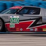 Ford GT, car 040 in turn 5