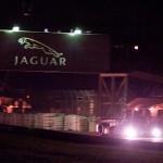 Peugeot 908 car 8 under the Jaguar Bridge