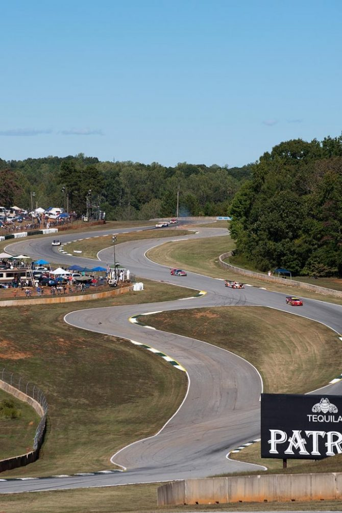 Looking into turns 2, 3, 4 and The Esses
