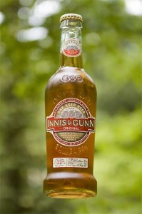 Innis & Gunn floating bottle