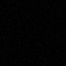 "1"" black square with 2% noise PNG format"