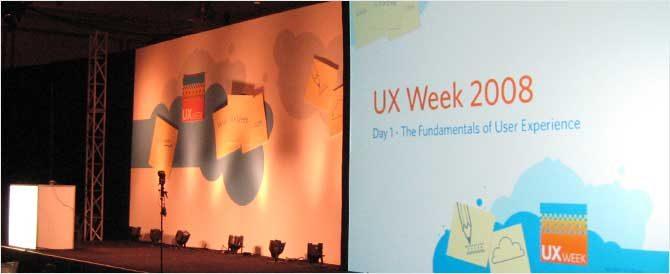 UXWeek08Stage