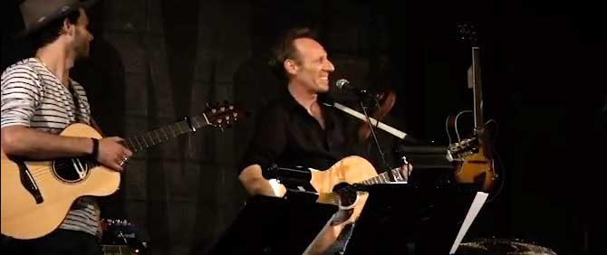 Guitarist Brady Cohan and singer, songwriter and guitarist David Baerwald.