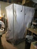Photo: spray booth in workshop